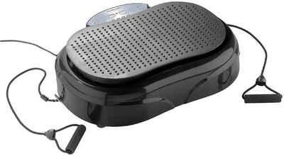 Newgen Medicals Rüttelplatte »newgen medicals 3in1 Rüttelplatte Vibrationsplatte mit Expander Abnehmen Muskelaufbau schlank werden«, (LxB) 56,00x32,00 cm