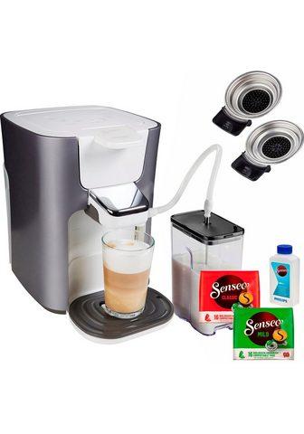 Senseo Kaffeepadmaschine HD6574/20 Latte Duo ...