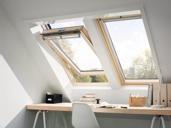 VELUX Dachfenster »GGL CK04«, Schwingfenster, BxH: 55x98 cm