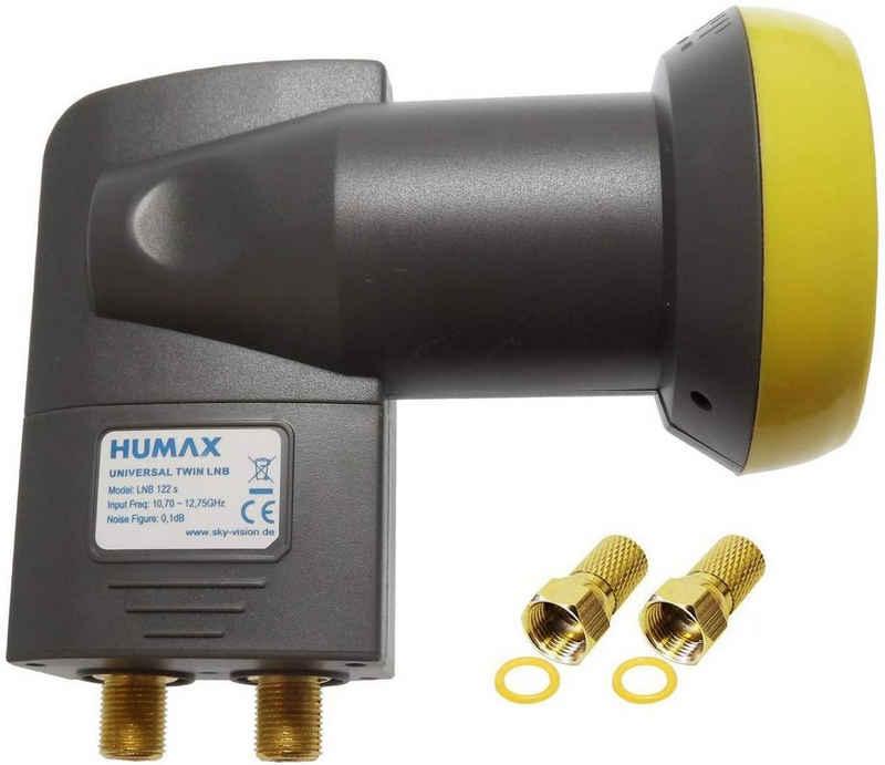 Humax »Humax Gold Twin LNB, digitales Satelliten universa« Universal-Twin-LNB