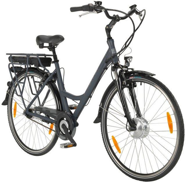 MAXTRON E-Bike City »MC-3«, 28 Zoll, 7 Gang Frontmotor, 418 Wh*