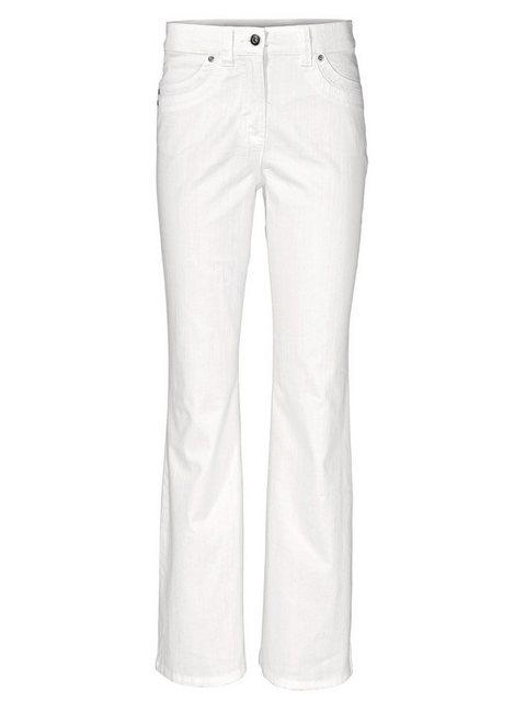 Hosen - ASHLEY BROOKE by Heine Bootcut Jeans Bootcut › weiß  - Onlineshop OTTO
