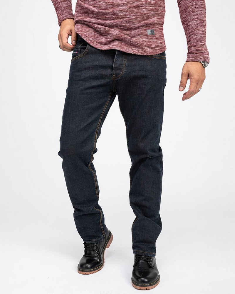 Rock Creek Straight-Jeans »Herren Jeans Rinsedwashed Denim RC-2165«