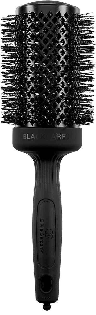 OLIVIA GARDEN Rundbürste »Olivia Garden Thermal Black Label 54/70 mm«