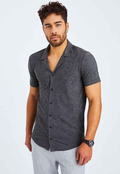 Leif Nelson T-Shirt »Herren Hemd Kurzarm LN-55515«