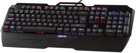 Hyrican mechanische USB Gaming Tastatur ST-MK29 mit RGB Beleuchtung »Tastaturen«