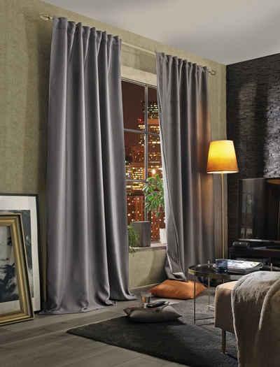 Vorhang »ACCUSTICO«, Home Basics, Multifunktionsband (1 Stück), Lärmschutz