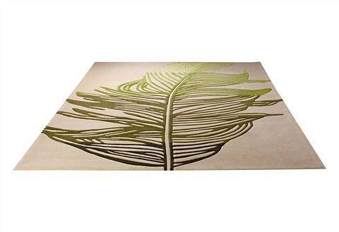 Design-Teppich, Esprit, »Feather« in grün