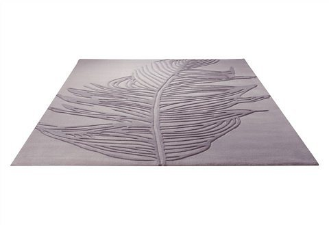 Design-Teppich, Esprit, »Feather« in beige