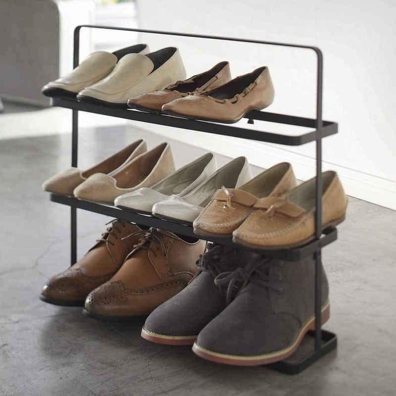 Yamazaki Schuhregal »Tower«, Schuhablage, für 8 bis 9 Paar Schuhe, freistehend, tragbar