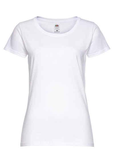Fruit of the Loom T-Shirt »Ladies Original« mit Rundhals und Kurzarm