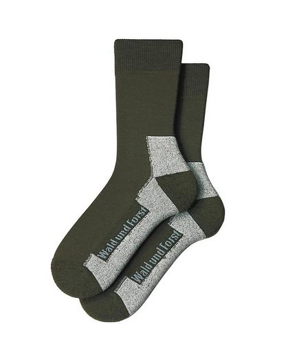 Wald & Forst Socken »Funktionssocke Doppelpack«