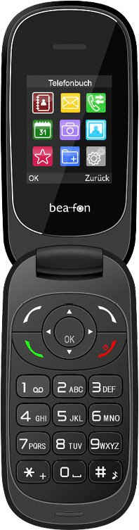 Beafon C220 Klapphandy (4,5 cm/1,77 Zoll)