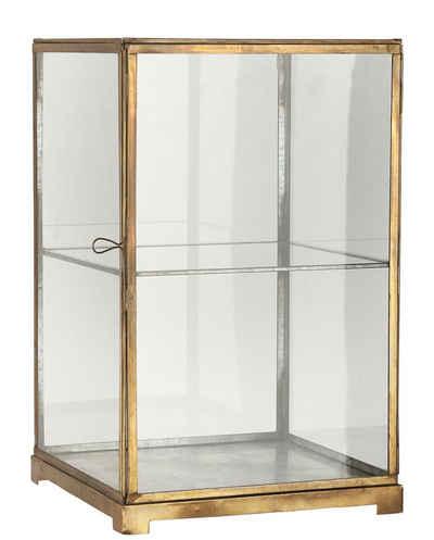 Ib Laursen Wandregal »Glasschrank Glasvitrine Vitrine Regal Schränkchen Glas Metall Laursen 0871-17«