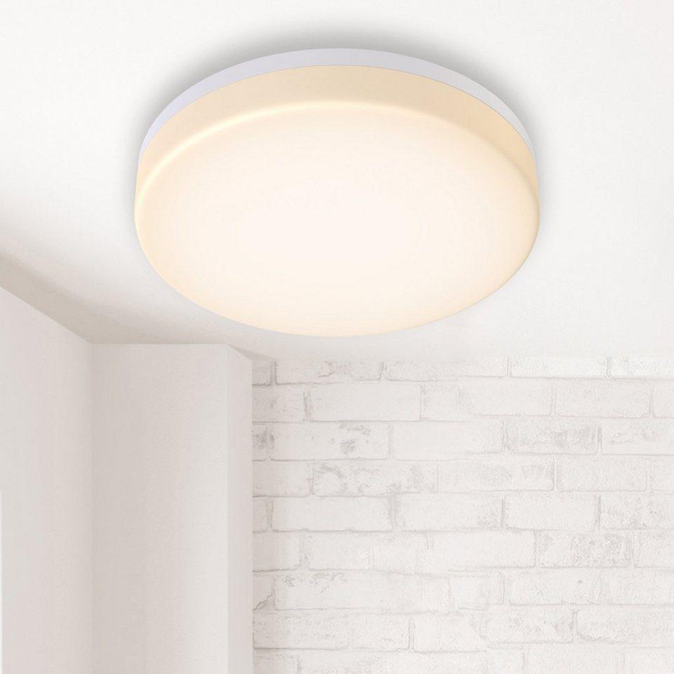 B.K.Licht LED Deckenleuchte, LED Bad Deckenlampe LED 20W 20lm ...