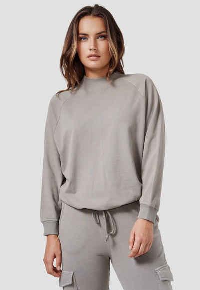 Cotton Candy Sweatshirt »WIARA« mit praktischem Kordelzug