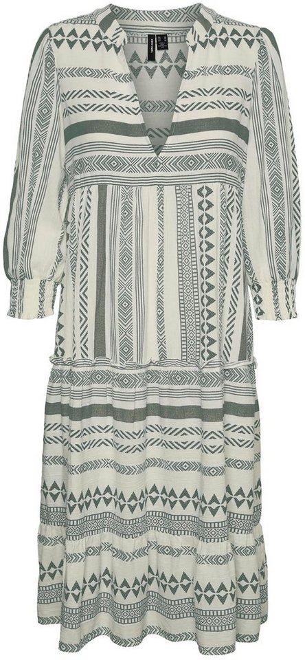 Vero Moda Midikleid Vmdicthe 3 4 Calf Dress Otto