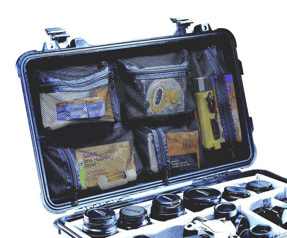 Peli Campingtruhe & -Kiste »Deckelorganizer f. Box Flightcase 1510« in schwarz
