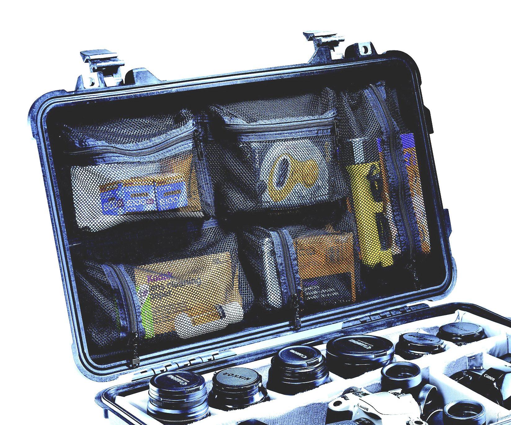 Peli Campingtruhe & -Kiste »Deckelorganizer f. Box Flightcase 1510«