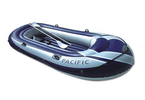 Badeboot-Set, Simex, »Pacific 300« in blau/grau