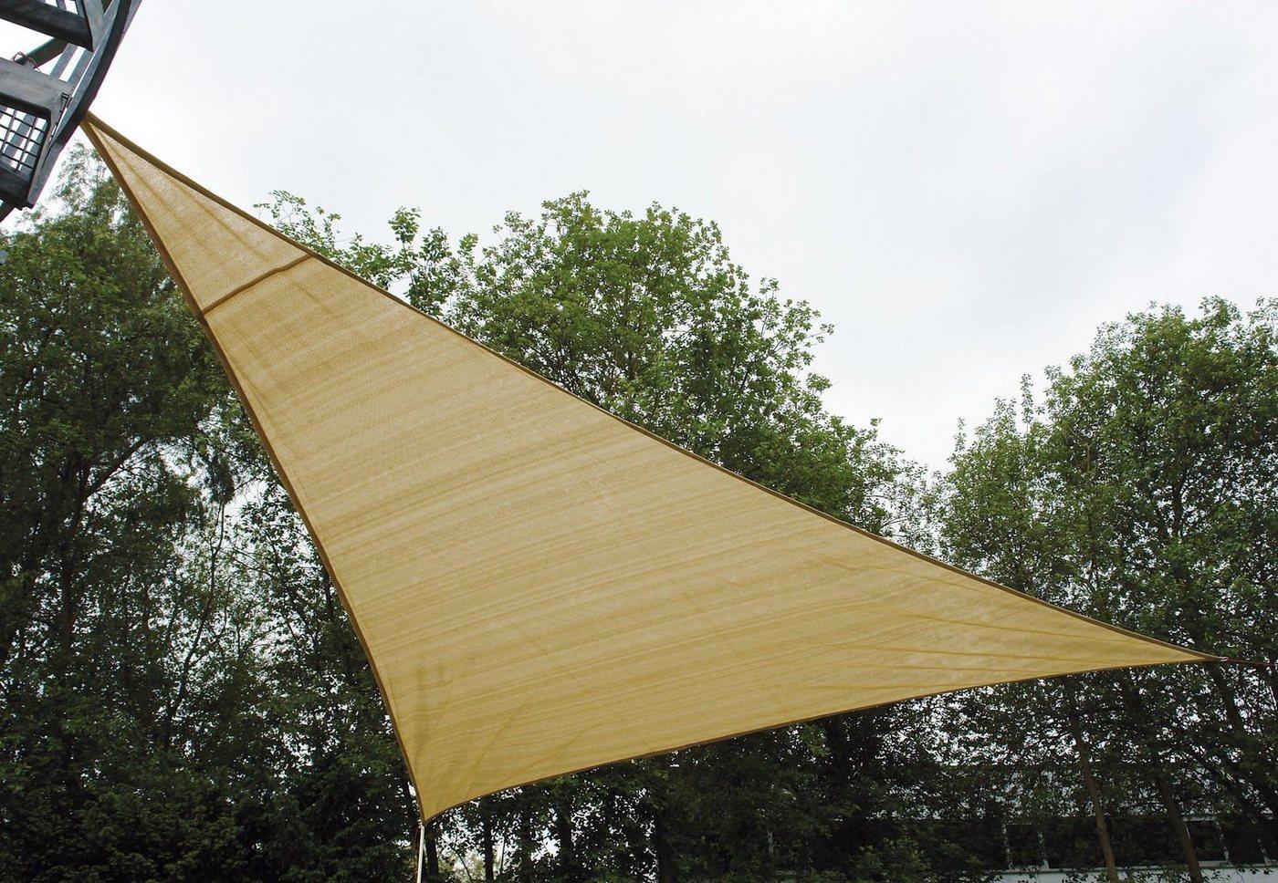 unisex High Peak Sonnensegel »BERMUDA TARP 360« natur  Zelte