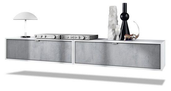 Vladon Lowboard »Lana« (Set, 2 St), Breite 100 cm pro Element
