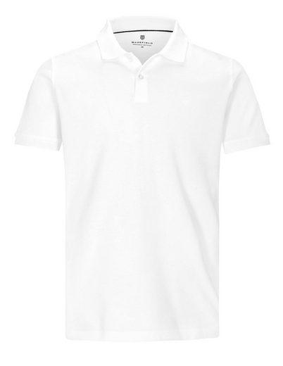 BASEFIELD Poloshirt »Bio Baumwolle« mit Logo-Stickerei auf der Brust