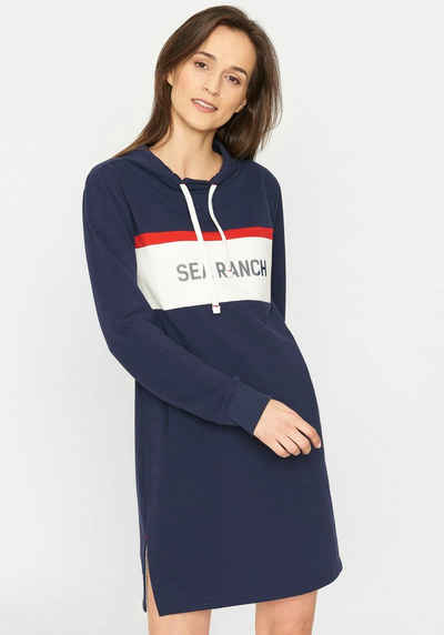 Sea Ranch Sweatkleid »Gritt« Mit maritimem Frontdruck und eingelassenen Taschen