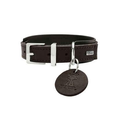 Hunter Hunde-Halsband »Larvik Comfort«, Leder