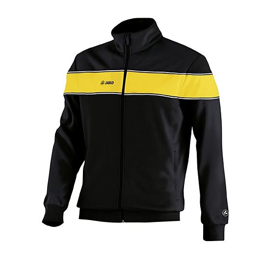 JAKO Trainingsjacke Player Herren in schwarz/gelb