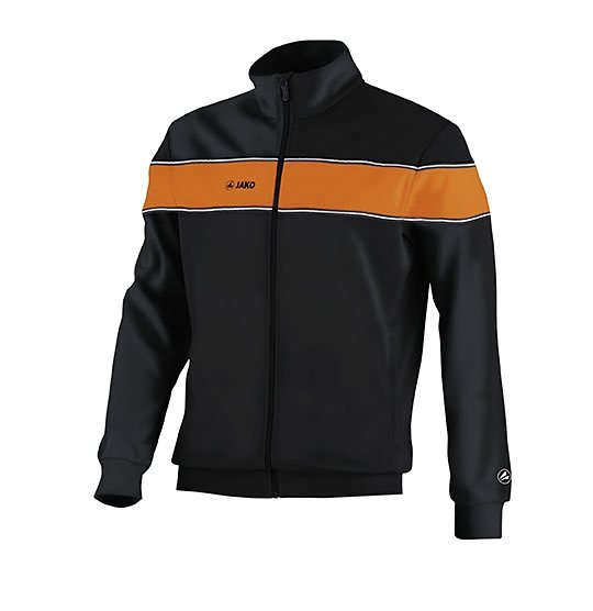 JAKO Trainingsjacke Player Herren in schwarz/orange