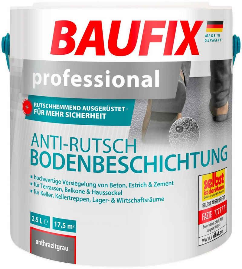Baufix Acryl-Flüssigkunststoff »professional Anti-Rutsch-Bodenbeschichtung«, 2,5 Liter, schwarz
