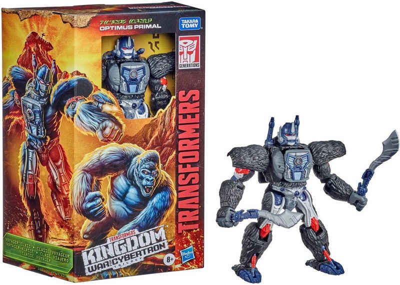 Hasbro Actionfigur »Transformers Generations War for Cybertron: Kingdom Voyager WFC-K8 Optimus Primal«