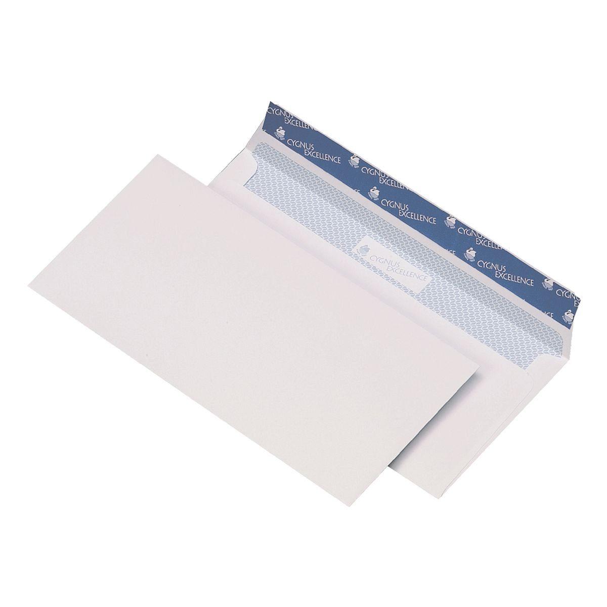 Mailmedia Briefumschläge DL ohne Fenster mit Haftklebung