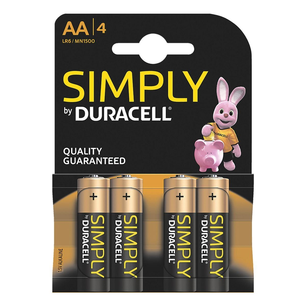 Duracell Batterien Mignon / AA / LR06 »Simply«
