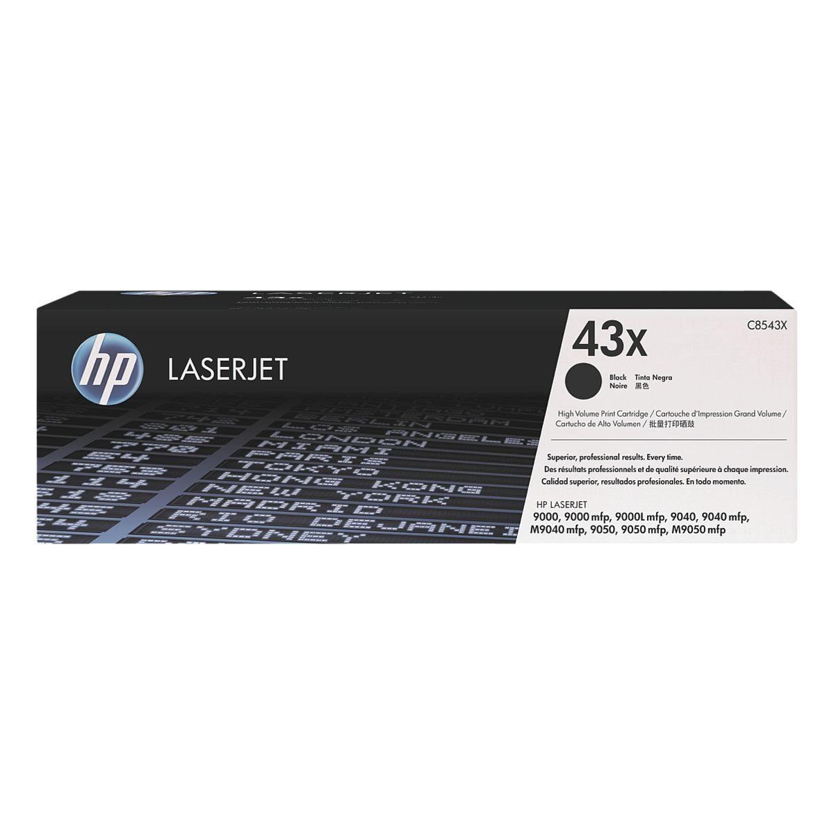 HP Druckkassette HP 43X »HP C8543X«