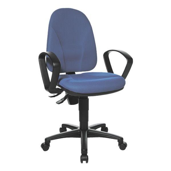 Topstar Bürostuhl »Point 20« ohne Armlehnen in blau