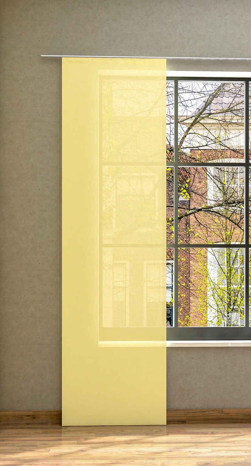 Schiebegardine nach Maß »Libre-ECO, Breite: 60 cm«, Neutex for you!, Paneelwagen (1 Stück), Nachhaltig