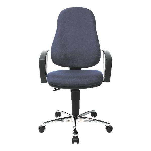 Topstar Bürostuhl »Point 60« ohne Armlehnen in royalblau