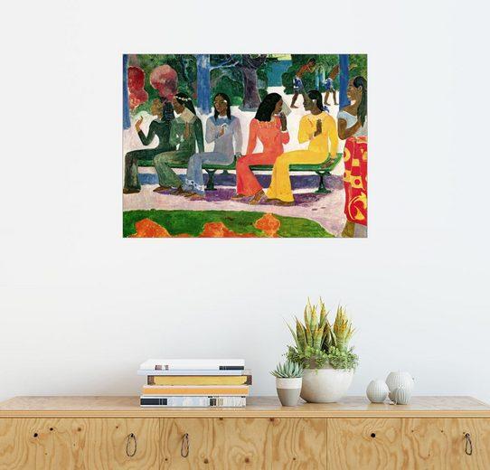 Posterlounge Wandbild, Auf dem Markt