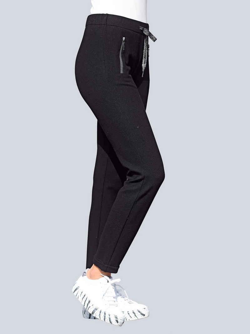 Alba Moda Jerseyhose im angesagten Joggingstyle