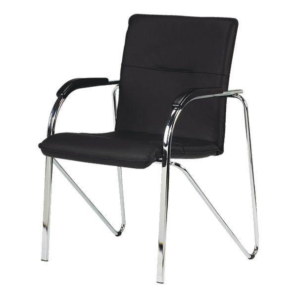 Nowy Styl 2er-Set Besucherstühle »Samba« in schwarz