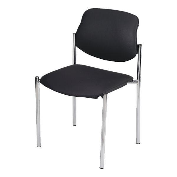 Nowy Styl 4er-Set Besucherstühle »Styl« in schwarz