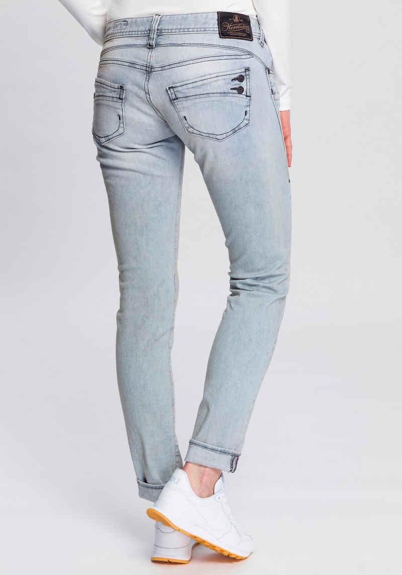 Herrlicher Slim-fit-Jeans »PIPER SLIM DENIM STRETCH« Heavy Used Powerstretch