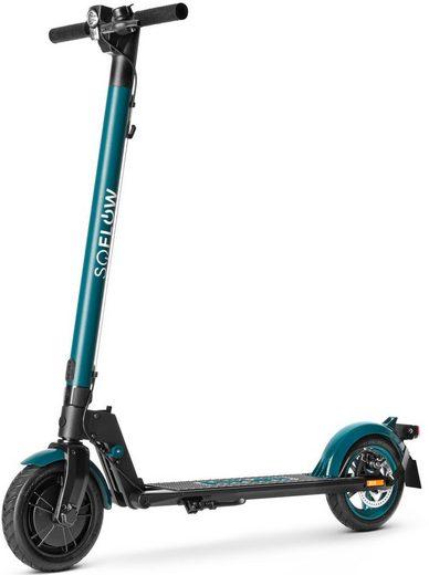 soflow E-Scooter »SO1 PRO«, 20 km/h, (mit Schutzblechen)