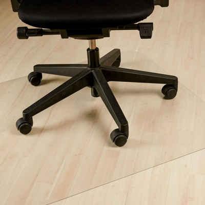 relaxdays Bodenschutzmatte »Bodenschutzmatte Bürostuhl transparent«