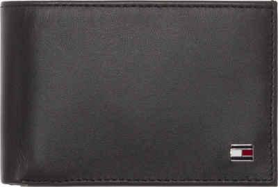 Tommy Hilfiger Geldbörse »ETON MINI CC FLAP & COIN POCKET«, aus echtem Leder