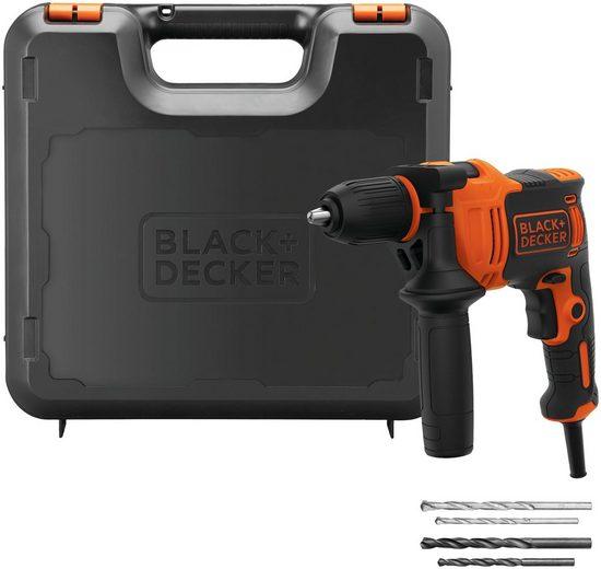 Black + Decker Schlagbohrmaschine, 230 V, max. 2800 U/min, ohne Akku
