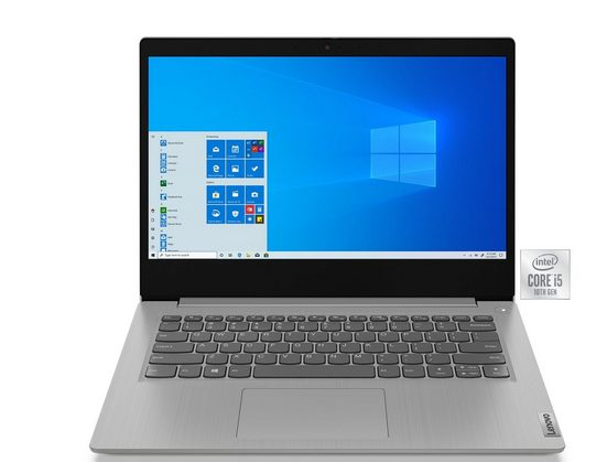 Lenovo IdeaPad 3 14IIL05 i5-1035G1 Notebook (35,6 cm/14 Zoll, Intel Core i3, UHD Graphics, 256 GB SSD)