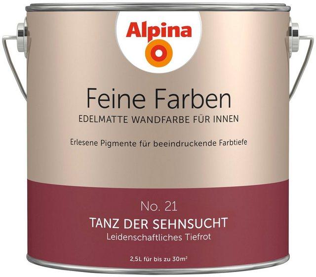 Alpina Feine Farben Tanz der Sehnsucht, rot
